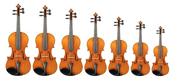 Comprar violin de inicio, las medidas
