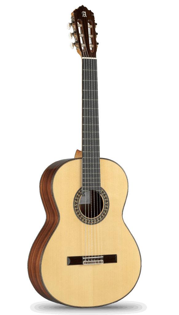 Guitarra Flamenca Negra Alhambra 5FP