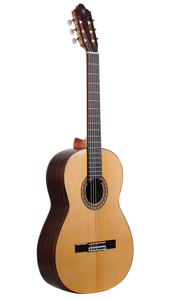Guitarra Flamenca Negra Prudencio Saez 24