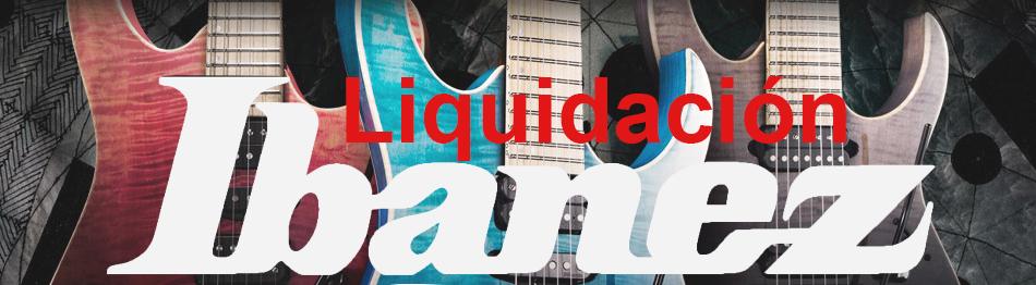 GUITARRAS IBANEZ OFERTA LIQUIDACIÓN