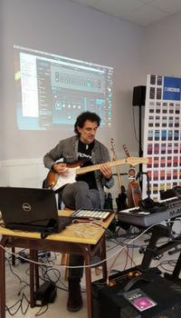 Jose Luis Arrazola en Cla Demo Boss Katana y Boss GT-1