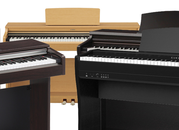 5 PIANOS DIGITALES ECONÓMICOS