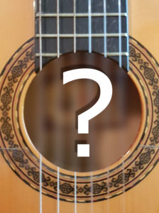 Boca guitarra española