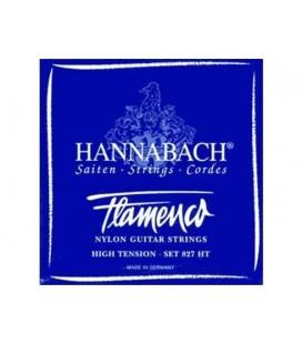 CUERDAS FLAMENCO HANNABACH 827HT SET 6 CUERDAS