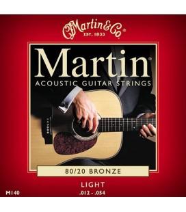CUERDAS GUITARRA ACUSTICA MARTIN M-140 012-054