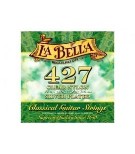 CUERDAS GUITARRA CLASICA LA BELLA 427 SET 6 CUERDAS