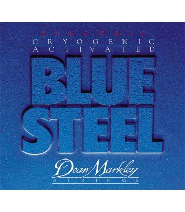 CUERDAS GUITARRA ELECTRICA DEAN MARKLEY BLUE STEEL 10-46 2556
