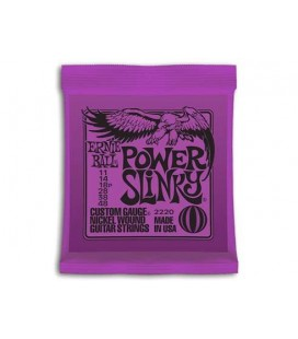 CUERDAS GUITARRA ELECTRICA ERNIE BALL 11-48 EB2220 POWER SLINKY
