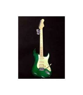 GUITARRA ELECTRICA ENTWISTLE EST-100HSS DARK GREEN BURST