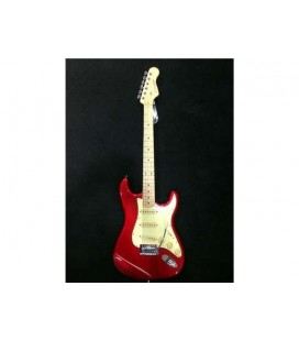 GUITARRA ELECTRICA ENTWISTLE EST-100SSS-M RED METALLIC