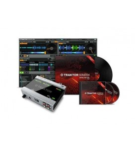 INTERFACE AUDIO USB NATIVE INSTRUMENTS TRAKTOR SCRATCH A6