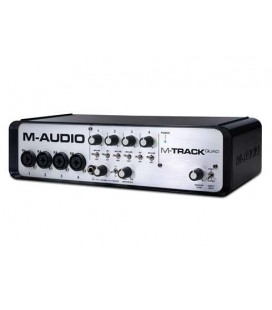 INTERFACE USB M-AUDIO M-TRACK QUAD AUDIO/MIDI