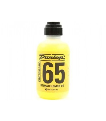 LIMPIADOR GUITARRA DUNLOP F65 LEMON OIL