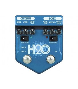 PEDAL CHORUS/ECHO GUITARRA ELECTRICA VISUAL SOUND H2O