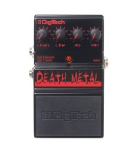 PEDAL DISTORSION GUITARRA ELECTRICA DIGITECH DEATH METAL ANALOG SERIES
