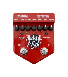 PEDAL DISTORSION/OVERDRIVE VISUAL SOUND JEKYLL & HYDE