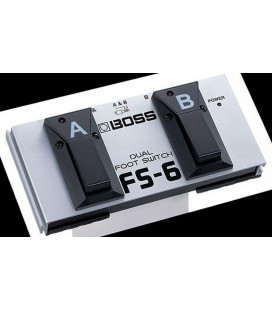 PEDAL FOOT SWITCH BOSS FS-6 DOBLE