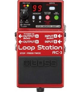 PEDAL LOOPER GUITARRA ELECTRICA BOSS RC-3 LOOP STATION