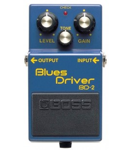 PEDAL OVERDRIVE GUITARRA ELECTRICA BOSS BD-2 BLUES DRIVER