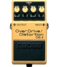 PEDAL OVERDRIVE GUITARRA ELECTRICA BOSS OS-2 OVERDRIVE-DISTORTION
