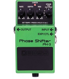 PEDAL PHASER GUITARRA ELECTRICA BOSS PH-3 PHASE SHIFTER
