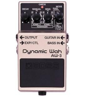 PEDAL WAH GUITARRA ELECTRICA BOSS AW-3 DYNAMIC WAH