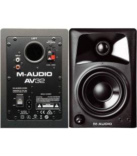 MONITORES DE ESTUDIO M-AUDIO STUDIOPHILE AV-32 10W