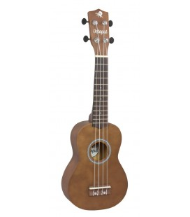 UKELELE SOPRANO OCTOPUS UK-200 NT NATURAL BROWN