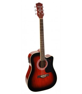 RICHWOOD RD-12-CE RED SUNBURST
