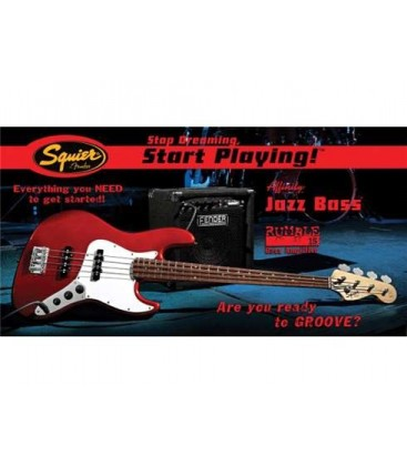 BAJO ELECTRICO PACK SQUIER JAZZ BASS MTR