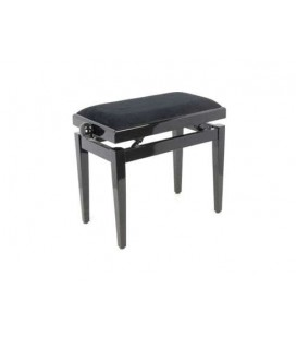 BANQUETA PIANO JINBAO 1084AM REGULABLE MARRON