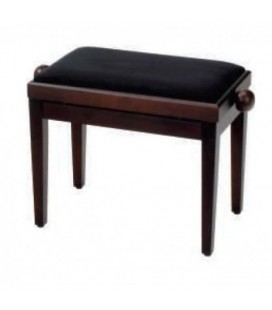 BANQUETA PIANO REGULABLE ADMIRA PB009 MARRON MATE