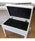 BANQUETA PIANO REGULABLE CON CAJON KBT BP