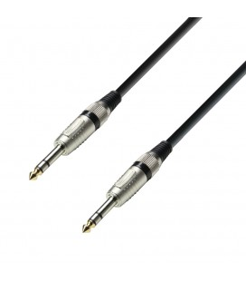 CABLE JAK-JAK STEREO 0,60M ADAM HALL K3BVV0060