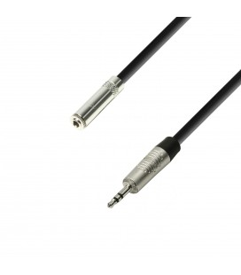 CABLE MINI JAK ESTEREO MACHO/HEMBRA 6M ADAM HALL K4BYVW0600