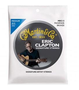 MARTIN MEC13 ERIC CLAPTON CUERDAS GUITARRA ACUSTICA 13-56