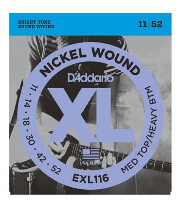 D'ADDARIO EXL116 CUERDAS GUITARRA ELECTRICA 11-52