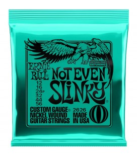 ERNIE BALL 2626 SLINKY NOT EVEN CUERDAS GUITARRA ELECTRICA 12-56