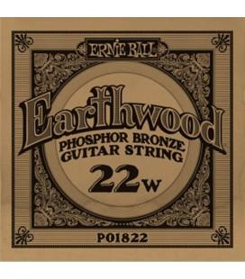 ERNIE BALL EARTHWOOD 022 CUERDA ACUSTICA