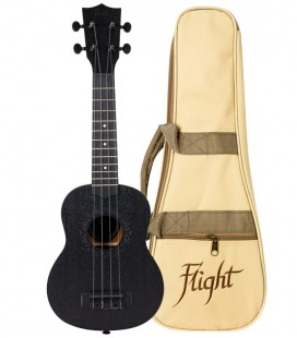 UKELELE SOPRANO FLIGHT NUS-310 BLACKBIRD