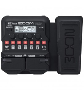 ZOOM G1X FOUR PEDAL MULTIEFECTOS GUITARRA ELECTRICA