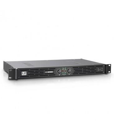 ETAPA DE POTENCIA LD SYSTEMS XS200 2x100W