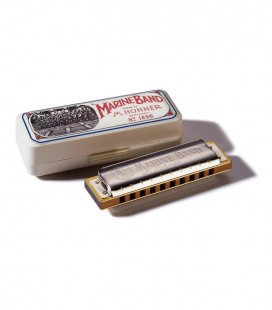 HOHNER MARINE BAND A ARMONICA BLUES
