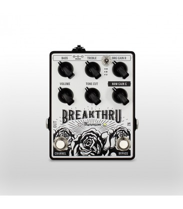 THERMION BREAKTHRU PEDAL OVERDRIVE DUAL
