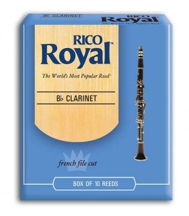 CAÑA CLARINETE RICO ROYAL 3,5