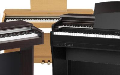 5 PIANOS DIGITALES ECONÓMICOS