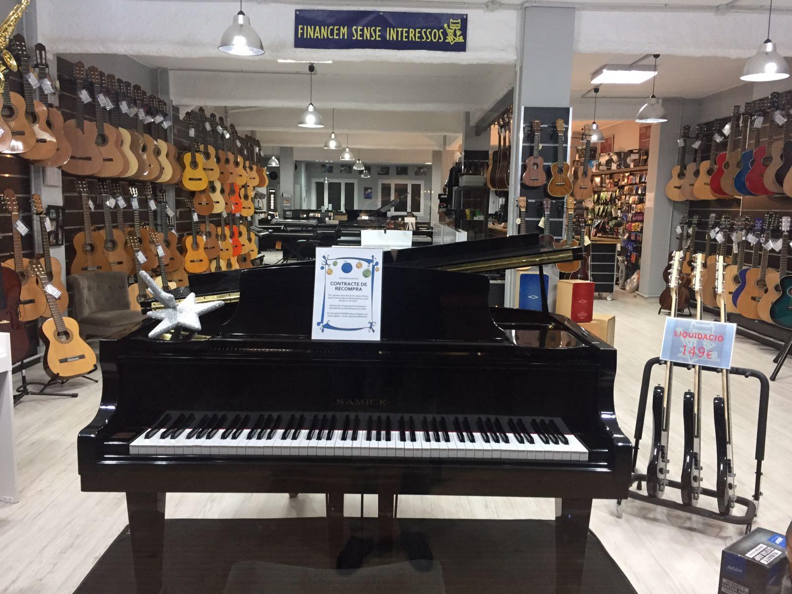 Tienda de instrumentos musicales la casa dels pianos for Casa piano cotizacion