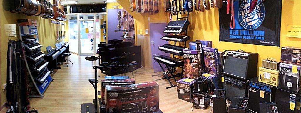 Akustic tienda de instrumentos musicales en Vilanova i la Geltrú