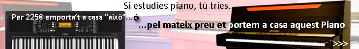 Pianos de LLoguer a Mataró