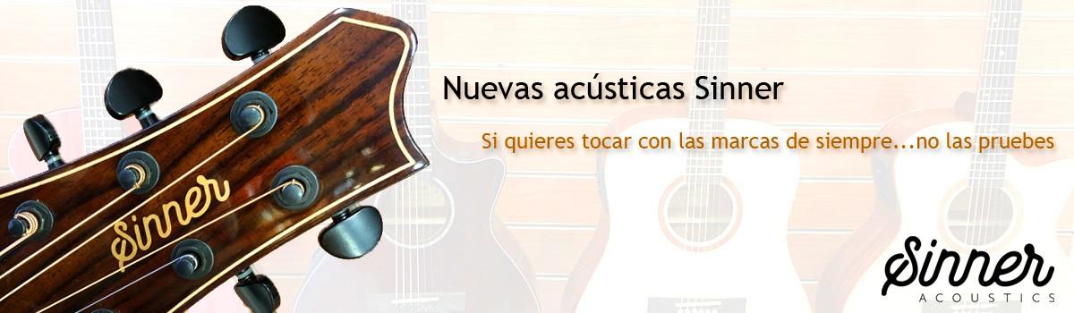 Guitarras Acústicas Sinner 2020
